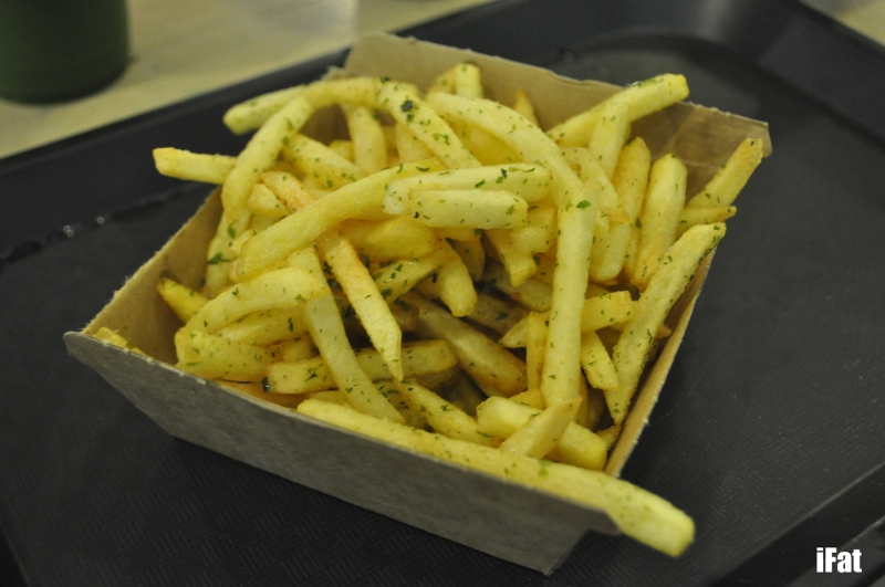 Shaker fries with Wasabi/Seaweed salt